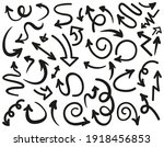 isolated vector arrows hand...   Shutterstock .eps vector #1918456853