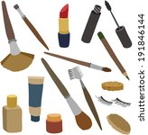 vector illustration of various... | Shutterstock .eps vector #191846144