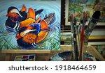 Painting Acrylic...
