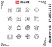 pack of 16 creative outlines of ...