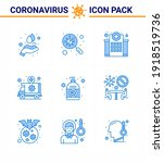 covid19 corona virus... | Shutterstock .eps vector #1918519736