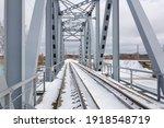 City Riga  Latvia. Old Railway...