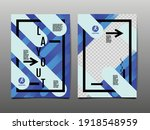 design layout  template design  ... | Shutterstock .eps vector #1918548959