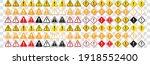 warning sign icon vector...   Shutterstock .eps vector #1918552400