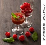 Raspberry Coctail And Fruits