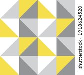 triangle vector pattern.... | Shutterstock .eps vector #1918624520