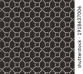 geometric black pattern... | Shutterstock .eps vector #1918637006