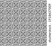 geometric gray pattern... | Shutterstock .eps vector #1918637009