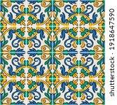 decorative seamless pattern...   Shutterstock .eps vector #1918647590