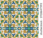 decorative seamless pattern...   Shutterstock .eps vector #1918647593