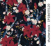 seamless floral pattern in the... | Shutterstock .eps vector #1918655120