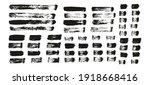 flat paint brush thin straight... | Shutterstock .eps vector #1918668416