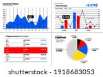 investment values and graphs ...   Shutterstock .eps vector #1918683053