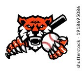 tigers baseball team design...   Shutterstock .eps vector #1918695086