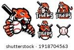 tigers baseball team design... | Shutterstock .eps vector #1918704563