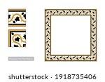 traditional palestinian floor... | Shutterstock .eps vector #1918735406
