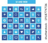 big ui and internet icon set ...