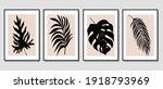 set of creative minimalist hand ... | Shutterstock .eps vector #1918793969