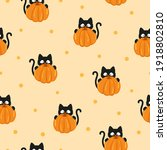 Halloween Pattern With Funny...