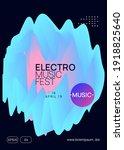 music poster. modern techno...   Shutterstock .eps vector #1918825640