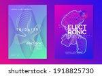 music fest. minimal discotheque ...   Shutterstock .eps vector #1918825730