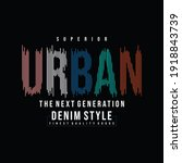 Urban Street Stylish Text Frame ...