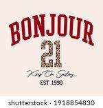 embellished college slogan... | Shutterstock .eps vector #1918854830