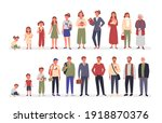 people in different ages vector ... | Shutterstock .eps vector #1918870376