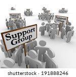 support group signs... | Shutterstock . vector #191888246