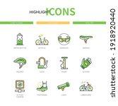 cycling   modern line design...   Shutterstock .eps vector #1918920440