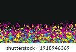 bright confetti.abstract... | Shutterstock . vector #1918946369