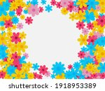 spring background with flower....   Shutterstock .eps vector #1918953389