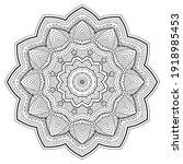 circular pattern in form of... | Shutterstock .eps vector #1918985453