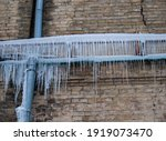 Thin Icicles On The Old Crack...
