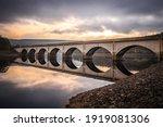 Long Arched Bridge Crossing...
