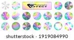 holographic glitter texture... | Shutterstock .eps vector #1919084990