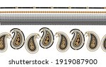 baroque golden chains pattern... | Shutterstock .eps vector #1919087900