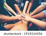 Solidarity Unite People Hands...