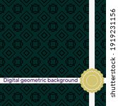 geometric background. seamless. ... | Shutterstock .eps vector #1919231156