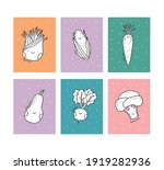 cute cartoon coloring page for...   Shutterstock .eps vector #1919282936
