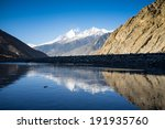 mountains  mirroring  in kali... | Shutterstock . vector #191935760