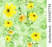 Watercolor Pattern   Flowers ...