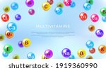 essential vitamins and minerals.... | Shutterstock .eps vector #1919360990