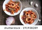 Korean Food   Octopus With...