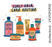 illustration of cosmetics for... | Shutterstock .eps vector #1919393900