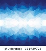 abstract blue triangle... | Shutterstock .eps vector #191939726