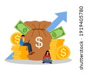 investment financial business... | Shutterstock .eps vector #1919405780
