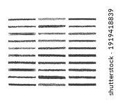 hand drawn pencil scribble... | Shutterstock .eps vector #1919418839