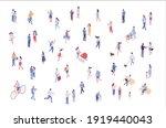 isometric vector background... | Shutterstock .eps vector #1919440043