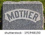 Mother Headstone   Granite...